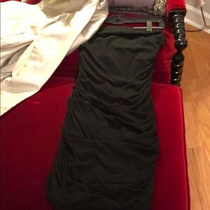 Little Strapless Black Dress
